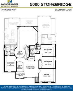 Stonebridge Collection Floorplans
