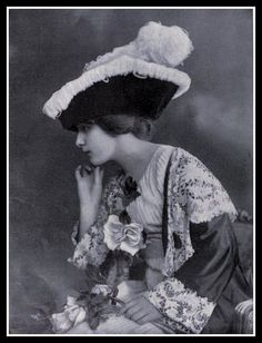 1912 Edwardian Fashion: Hat - 5 by CharmaineZoe, via Flickr