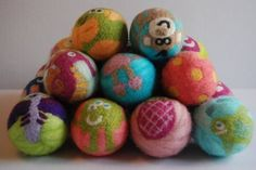 (9) Dryer balls are a must for me! They significantly cut down on your drying time and having some with cute patterns definitely makes laundry day a little more fun! #clothdiapers #nopins