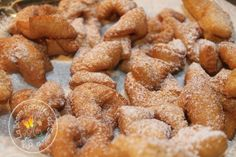 Krouchtikis polonais - Le gâteaux biscuit que me faisait ma mamie Cécile que j'aimais tant ! <3