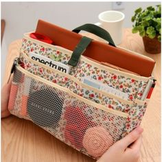 Awesome purse organizer with room for tablet!