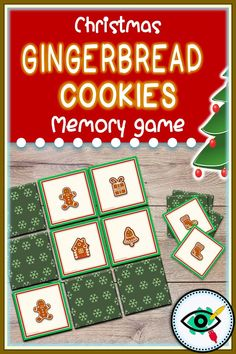 A colorful, fun matching/memory game with Gingerbread Cookies images, designed especially for the Christmas holiday. Great holiday activity in your classroom or at home with kids and family. Suitable for any language. Christmas Gingerbread, Gingerbread Cookies, Christmas Holiday, Snow Activities, Christmas Activities, Second Grade Games, Gingerbread Man Activities, Cookie Images, Holidays With Kids