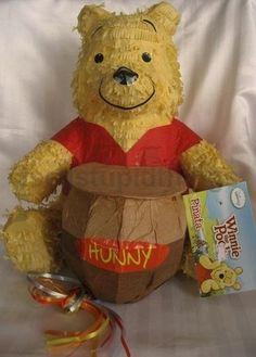 Disney Winnie The Pooh Pinata Pull Ribbon String Birthday Party Supplies Game | eBay