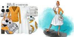 These Star Wars DisneyBound Sketches Are Out of This World
