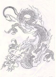 Chinese_japanese_dragon_by_Terjis.jpg (600×821)