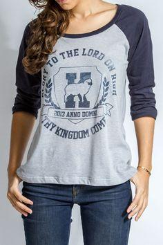 Camiseta - Glory to the Lord