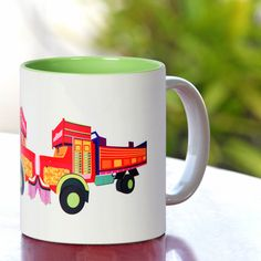 Zing Thing: India Circus | Jalebi Truck Load Mug
