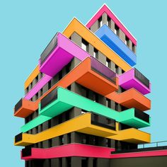 Check out our interview with aspiring architect Paul Eis who reinvisions buildings with a colourful pallette > Now on Befront