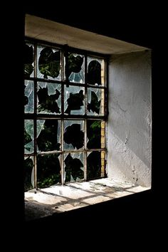 The Homestead Survival | Halloween Decoration Project: How To Give The Apperance of Fake Broken Windows | http://thehomesteadsurvival.com