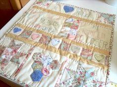 Quilt de Patchwork. Tutorial paso a paso. Como hacer un quilt de patchwork Beginner Quilt Patterns, Quilting For Beginners, Sewing Patterns, Quilt Sets, Quilt Blocks, Quilt Boarders, Seminole Patchwork, Braid Quilt, Easy Quilts