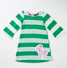 This is one of my favorites on totsy.com: Long Sleeve Striped Dress with Deer