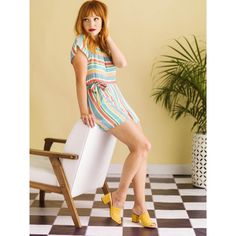 aa42bc0d814 French Girl Cool Short Sleeve Romper in Proprietary Pastel Print French  Girls