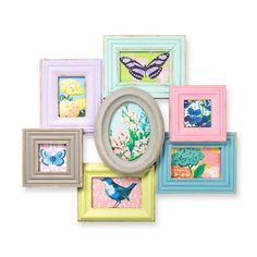 Buy the Multi Pastel Brights Wall Frame at Oliver Bonas. Enjoy free UK standard delivery for orders over £50.
