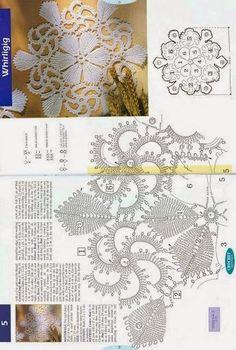 Kira scheme crochet: Scheme crochet no. 442