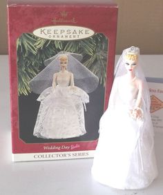 Hallmark Barbie Wedding Day Keepsake Ornament 1997 Patricia Andrews