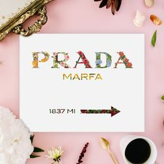 Experimenting with your favourite botanicals and the iconic Prada Marfa sign. Here's our take on it. 💪🏻