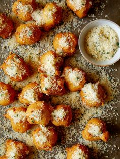 No Yeast Cheesy Herb Beignets