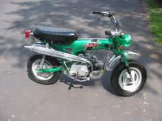 Back in the day. Honda Trail 70.