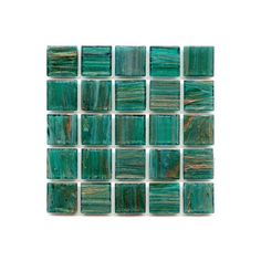 Blue Emerald Glass Tile from Hakatai ($17) ❤ liked on Polyvore featuring fillers, backgrounds, blue, green, pictures, textures, text, phrase, quotes and saying
