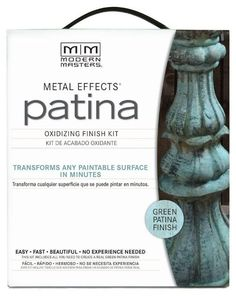 Do you have home decor elements that are drab lacking a personality and punch? Well, there's an easy way to change all that! With Modern Masters Metal Effects K…