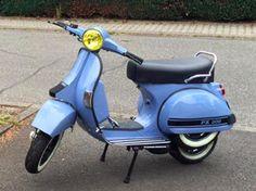 Vespa PX 200 RAL 5014 Taubenblau