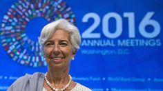 IWF-Chefin Lagarde: Deutschland muss mehr investieren Der IWF lässt nicht locker: Deutschland gehöre zu den Ländern, die Spielraum für mehr Investitionen hätten und diesen nutzen sollten. Der Deuts…