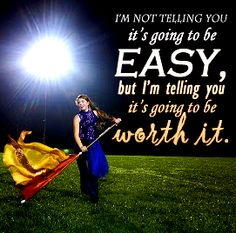Color Guard Quotes!