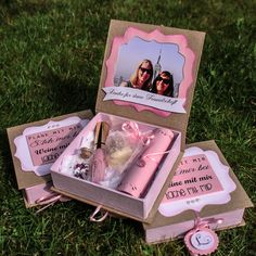 Geschenk für die Brautjungfern und Trauzeugin. Present for Bridemaids…