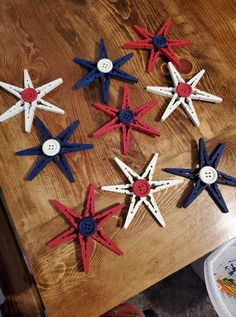 4th July Crafts, Fourth Of July Decor, 4th Of July Celebration, 4th Of July Party, July 4th, Memorial Day Decorations, 4th Of July Decorations, Americana Crafts, Patriotic Crafts