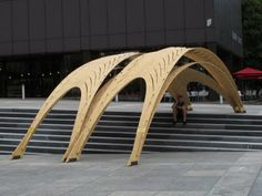 Experimental Wood Structures at ETH
