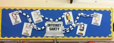 Internet safety bulletin board :) Self Defense Tips, Internet Safety, Safety And Security, Library Displays, Identity Theft, Emergency Preparedness, Bulletin Boards, Bulletin Board, Data Boards