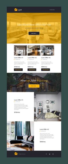Real Estate Flat Email Template