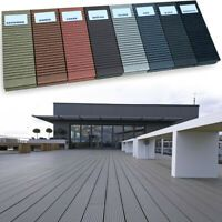 Composite Decking Boards Wpc Wood Plastic Individual Sample Pack 8 Colours Grey Wooden Corbels Timber Shelves Diy Molding