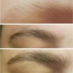Did you see the changes of eyebrow?