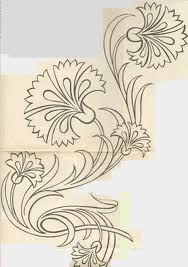 ideas design art nouveau tattoos for 2019 Painting Patterns, Fabric Painting, Crewel Embroidery, Embroidery Patterns, Art Nouveau Tattoo, Doodle Drawing, Motif Art Deco, Tile Art, Islamic Art