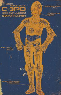 póster C-3PO Imprime y enmarca el póster que quieras... _ https://ñoño.cl/producto/comprar-poster-enmarcado/ _ https://xn--oo-yjab.cl/producto/a-la-venta-afiche-personalizado/