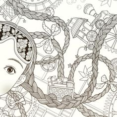 Daria Song : #TheNightVoyage Coloring Book | ✐Zentangles ~ Adult ...