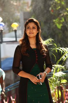 Nayanthara Actress Photos Stills Gallery Salwar Designs, Simple Kurti Designs, Churidar Neck Designs, Kurta Neck Design, Kurta Designs Women, Kurti Designs Party Wear, Dress Neck Designs, Blouse Designs, Indian Designer Outfits