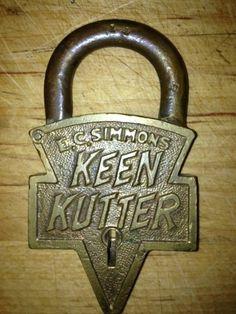 Antique Keen Kutter Padlock