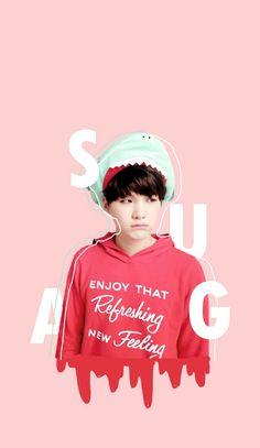 Min suga que fofooooo ♥ Bts Suga, Min Yoongi Bts, Bts Bangtan Boy, Bts Taehyung, Seokjin, Namjoon, Jikook, Bts Lockscreen, Bts Edits