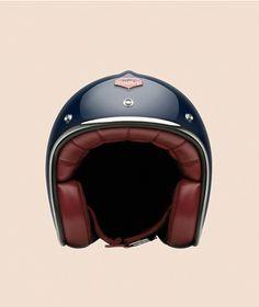 By: Alexander V Wesley [Dior Homme Sport] 2013 Nice helmet Motorcycle Style, Motorcycle Helmets, Riding Gear, Riding Helmets, Vespa, Scooters, Ruby Helmets, Cafe Racer Helmet, Vintage Helmet
