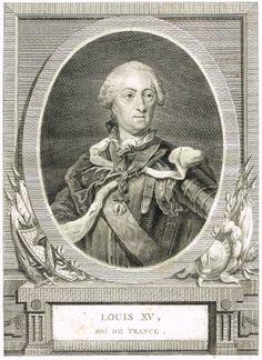 Portrait de Louis XV (1710-1774)