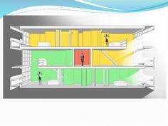 interiores unidad de habitacion marsella le corbu - Buscar con Google