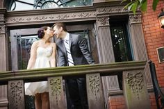 An intimate & non-traditional Washington, DC wedding at the Tabard Inn!