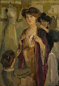 Israëls - Essayeuse, 1903-1909