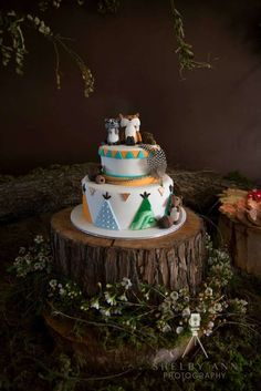 Woodland  Baby Shower Baby Shower Party Ideas | Photo 1 of 36