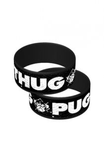 Thug Pug Wristband Accessory - Johnnie Guilbert Accessories - Online Store on District Lines