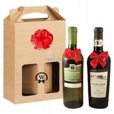 Two Italian bottles X Red Wine + 1 White Wine are packaged in the elegant decorative box when you want to say it in a classic way. By inserting your own personal message, you can personalize this gift. Wine Gift Boxes, Wine Gifts, White Wine, Red Wine, Holiday Gifts, Christmas Gifts, Italian Wine, Corporate Gifts, Gift Baskets