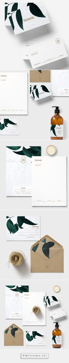 Botanic Organic Products Branding by Loolaa Designs   Fivestar Branding Agency – Design and Branding Agency & Curated Inspiration Gallery