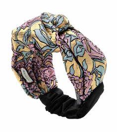 Silk and mohair-blend metallic headband   Gucci
